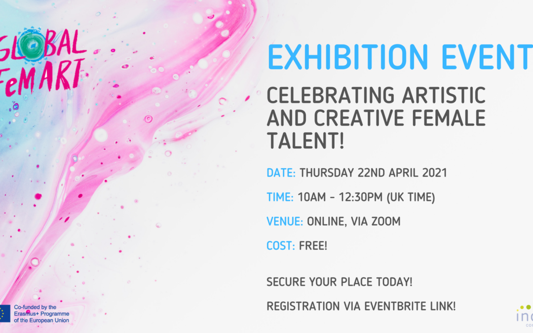 Exhibition Event: Celebrating Artistic and Creative Female Talent!